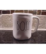 Rae Dunn BOSS Mug, Ivory with Black Lettering - $12.00