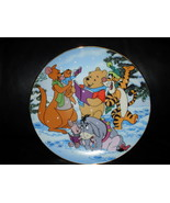 Disney Winnie The Pooh Christmas Collector Plate - $29.99