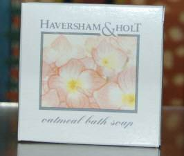 Wholesale Lot 50 Haversham Holt Oatmeal Bath Soap Bars