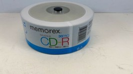 Memorex 40X Music Digital Audio 700MB 80min CD-R 30 Pack New and Sealed - $12.82