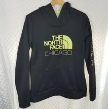 The North Face Chicago sweatshirt hoodie run size medium black green - $25.06