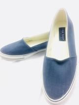 Cole Haan Womens Slip On Sneaker Blue Denim Sz 8M - $20.25