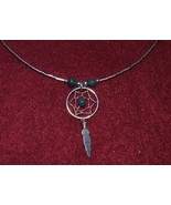 "18"" Sterling Silver Dreamcatcher Necklace, Southwestern - $24.88"