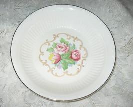 Royal China- Park Lane-Dalton (Rose) Serving Bowl-22 K Trim-9 in. - $6.50