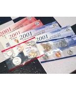 2001 P&D Mint Set No State Quarters - $6.99