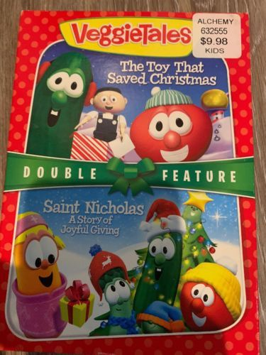 Vt: Toy That Saved Christmas + St. Nicholas [New DVD]