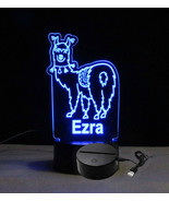 Personalized Llama Table Top Night light, USB/110V - $32.67+