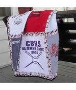 T-Shirt Quilt Wall Hanging by Custom Order Nine Shirts - $125.00
