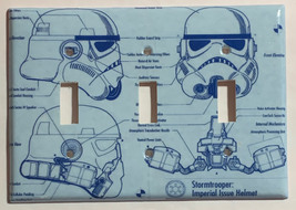 Star Wars White Stormtrooper Trooper Switch Outlet wall Cover Plate Home Decor image 5
