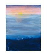 "Zoll La Von The Hills "" Susan Soffer Cohn Acryl Malerei auf Leinwand 61c... - $520.55"