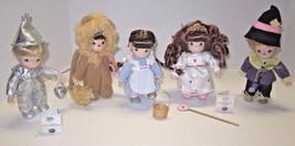 """EUC! Retired 7"""" Ashton Drake Precious Moments Wizard Of Oz Porcelain Dolls - $89.99"""