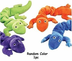 MPP Gecko Lizard Bungee Dog Toys Durable Plush Stretch Colorful Squeaky ... - $8.62