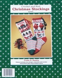 Christmas STOCKINGS! KNIT/CROCHET Train~Santa~Trucks~Hearts