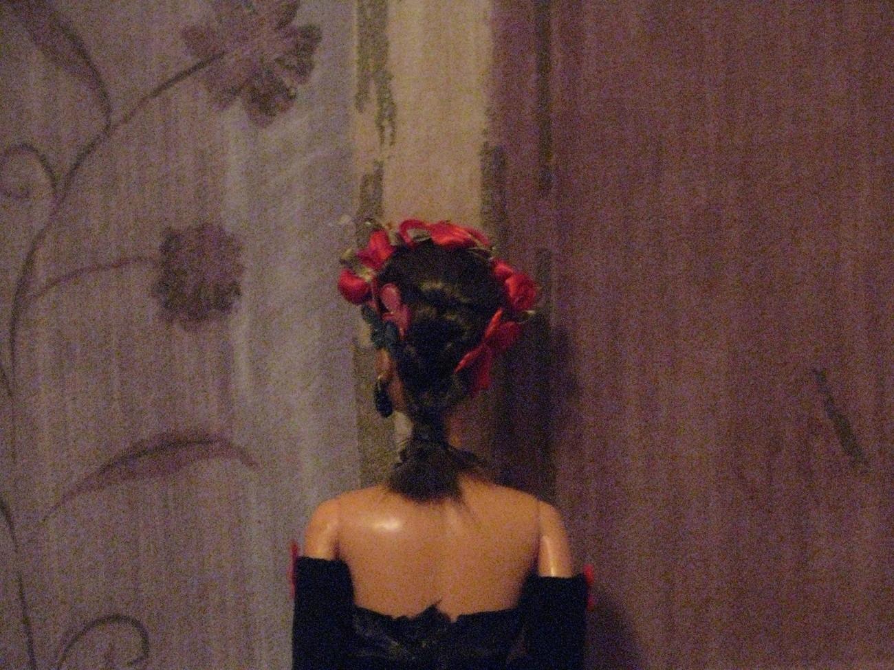 Beaded Hair Fashion Doll  Rhiannon OOAK Refashioned Barbie