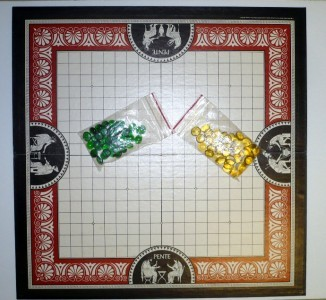 PENTE Classic Game of Skill Parker Bro Complete 1984