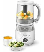 Philips avent scf883/01 food processor for baby 4 in 1 steam - $406.06