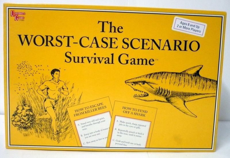 The Worst-Case Scenario Survival Game University Game 2001 Complete