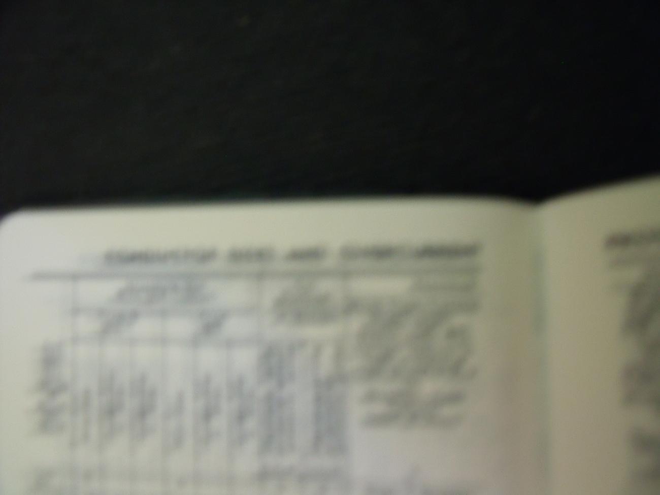 Original 1986 Westinghouse Notes & Data Book