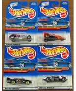 HOT WHEELS: CAR-TOON FRIENDS SERIES COMPLETE SET OF 4 - $12.00