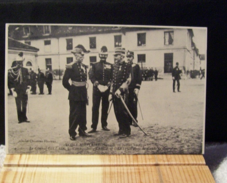 French Post Card Of General Gillain 1906