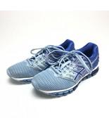 Asics Gel Quantum T6G7N blue running shoes womens 8.5 - $34.64