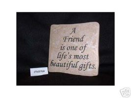 Christian Laser Engraved Ceramic Tile Friend Beautiful - $14.95