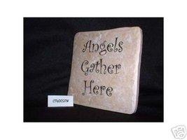 Christian Laser Engraved Ceramic Tile Angels Ga... - $14.95