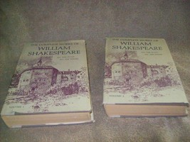 The Complete Works of William Shakespeare volume 1 & 2 - $10.00