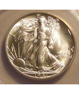 1941 50C Walking Liberty Silver Half Dollar ANACS (MS65) - $195.00
