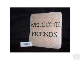 Christian Laser Engraved Ceramic Tile Welcome F... - $14.95