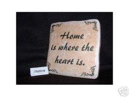 Christian Laser Engraved Ceramic Tile Home Heart - $14.95