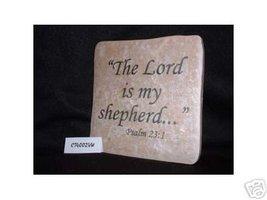 Christian Laser Engraved Ceramic Tile Psalm 23:1 - $14.95