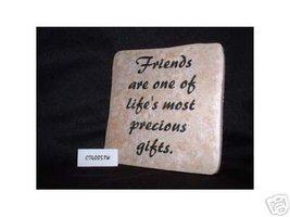 Christian Laser Engraved Ceramic Tile Friends Gift - $14.95