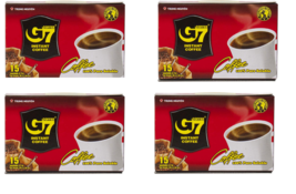 Trung Nguyen G7 Pure Black Instant Coffee - 2gr/sachet x 15 sachets/box ... - $18.80