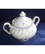 Johnson Brothers Pink and Blue Flowers Sugar Bowl - $15.85