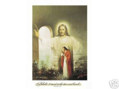 Christian Christ Showing The Way ART PRINT 8 X10 WOW
