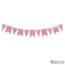 1st Birthday Cheetah Pennant Banner  - $2.21
