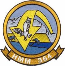 USMC HMM-364 Marine Medium Helicopter Squadron Swift Patch - $11.87