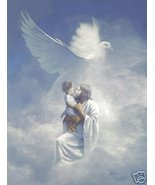 Jesus Christ Child in Heaven Christian Catholic - $4.49