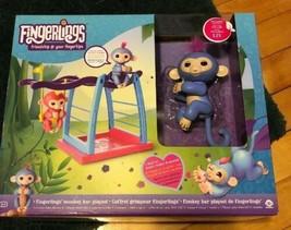 Brand New Woowee Authentic Fingerlings Monkey Bar Playset - $14.84