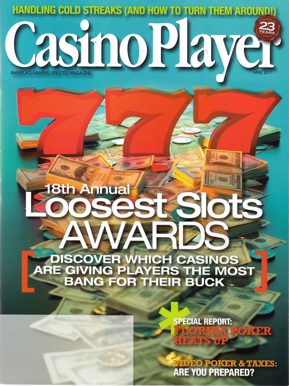 Casino player loosest slots