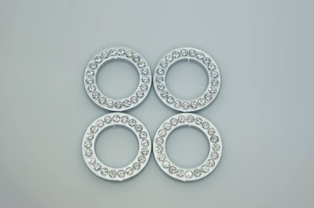 Grandioso KLR0001 Luxury Door Lock Ring With Swarovski Crystals Elements