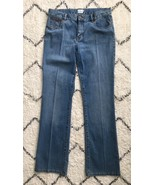 Classic Calvin Klein Mid Rise Light Wash Boot Cut Jeans Size 9 - excelle... - $22.11