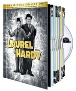 Laurel & Hardy: The Essential Collection (DVD, 2011, 10-Disc Set) - $23.89