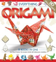Everything Origami, 8 Books in 1, 60+ models [Hardcover], Instructional DVD - $17.99