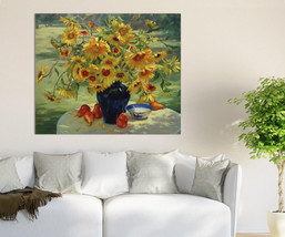 3D Schwarz Vasen, Blumen 97 Fototapeten Wandbild  BildTapete Familie AJSTORE DE - $36.55+