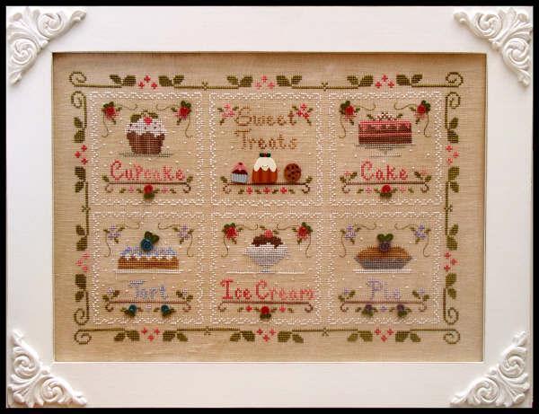 Cupcake Sweet Treats  Cotton Thread Pack cross stitch CCN - Classic Colorworks