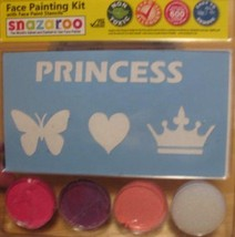Snazaroo Princess Heart Butterfly Face Paint Kit with Stencils - $26.54