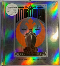 Disney Cruise Line Star Wars Autograph Book One side for Rebels Flip for Empire - $11.88