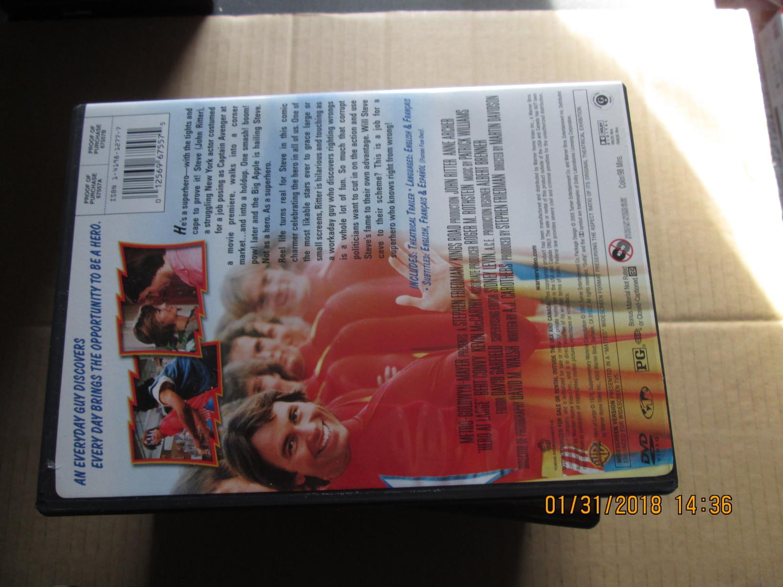 Hero at Large dvd John Ritter